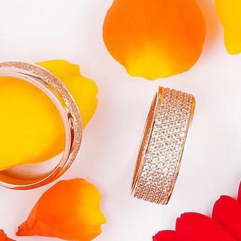 Klasikinių ir išskirtinių vestuvinių žiedų gamyba