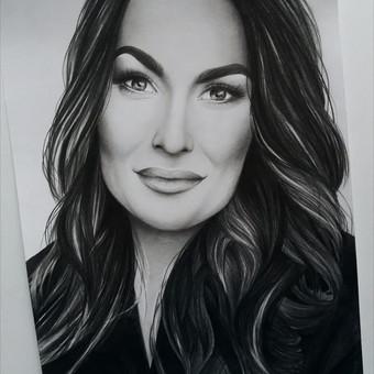 Portretų piešimas, paveikslų tapyba. / Sandra Stalmokaitė / Darbų pavyzdys ID 484247