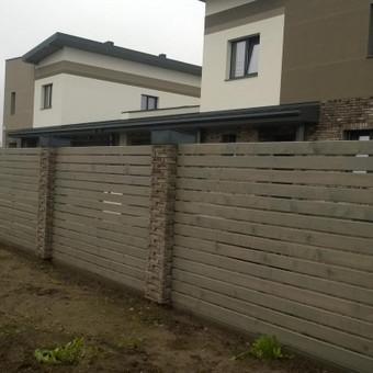 fasado šiltinimas ( renovacija )jo apdaila. / Mindaugas / Darbų pavyzdys ID 484281