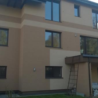 fasado šiltinimas ( renovacija )jo apdaila. / Mindaugas / Darbų pavyzdys ID 484283