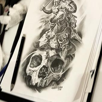 Profesionalios tattoo tik žinantiems, ko nori. / Evaldas(Mantikora) / Darbų pavyzdys ID 484647