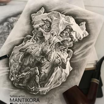 Profesionalios tattoo tik žinantiems, ko nori. / Evaldas(Mantikora) / Darbų pavyzdys ID 484651