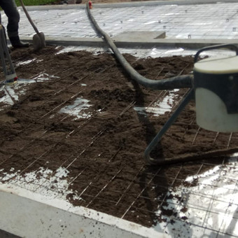 Grindų betonavimas / Šildomų grindų betonavimas / Dangiras / Darbų pavyzdys ID 485885