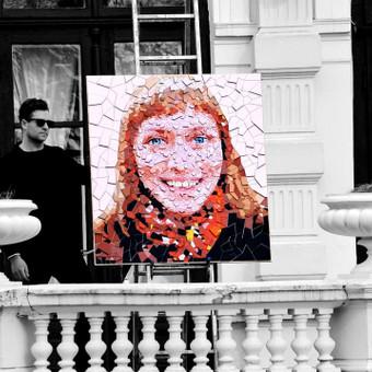 Dailininkas - dizaineris mozaikiniai paveikslai / Eugenijus Diglys / Darbų pavyzdys ID 485933