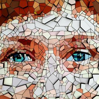 Dailininkas - dizaineris mozaikiniai paveikslai / Eugenijus Diglys / Darbų pavyzdys ID 485943