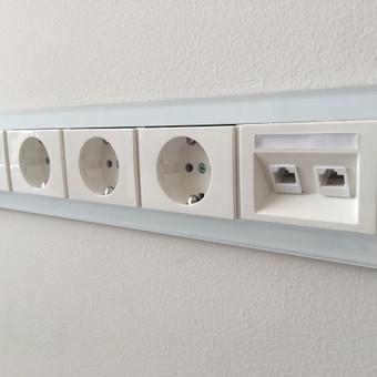 Elektros instaliacijos darbai, Signalizacijos montavimas / ENER / Darbų pavyzdys ID 486237
