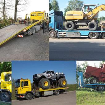 Krovinių gabenimas tech. pagalba iki 17t / Ignas Skučas / Darbų pavyzdys ID 486301
