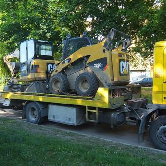 Krovinių gabenimas tech. pagalba iki 17t / Ignas Skučas / Darbų pavyzdys ID 486307