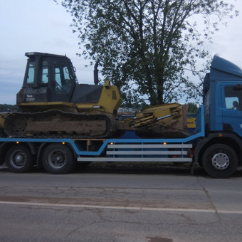 Krovinių gabenimas tech. pagalba iki 17t / Ignas Skučas / Darbų pavyzdys ID 486309