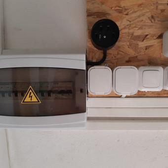 Greiti ir kokybiski elektros remonto bei instalecijos darbai / Virginijus Zilionis / Darbų pavyzdys ID 486589