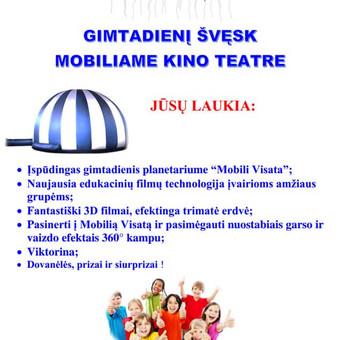 Mobilus kino teatras Mobili Visata / Diana Zenkovienė / Darbų pavyzdys ID 486603