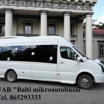"""Mikroautobusų nuoma su vairuotoju įvairioms progoms / UAB """"Balti mikroautobusai"""" / Darbų pavyzdys ID 486717"""