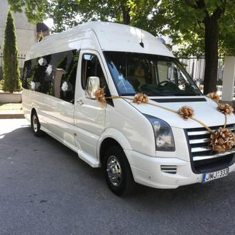 """Mikroautobusų nuoma su vairuotoju įvairioms progoms / UAB """"Balti mikroautobusai"""" / Darbų pavyzdys ID 486719"""