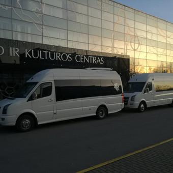 """Mikroautobusų nuoma su vairuotoju įvairioms progoms / UAB """"Balti mikroautobusai"""" / Darbų pavyzdys ID 486727"""