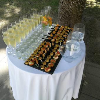 """Elegantiškas šampano staliukas po ceremonijos / UAB """"Star Constellation"""" / Darbų pavyzdys ID 487083"""
