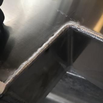 Aliuminio, plieno ir kitų metalų suvirinimas, gamyba / Vytautas / Darbų pavyzdys ID 487185