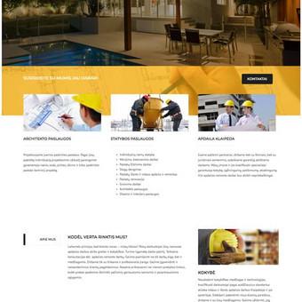 Internetinių Svetainių kūrimas - El.parduotuvės / Mantas M. / Darbų pavyzdys ID 487291