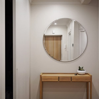 "Prieškambario interjero fragmentas  - ""Habitas - interjero dizainas"" projektas"