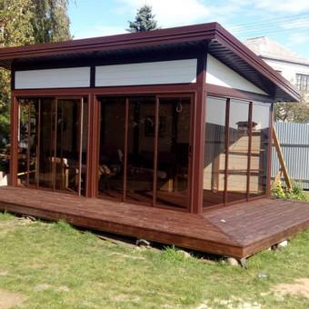 Senu mediniu namu renovacija,rekonstrukcija / Aivaras / Darbų pavyzdys ID 488711