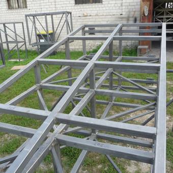 Metalo gaminiai, konstrukcijos, dekoracijos, skulptūros. / Linas / Darbų pavyzdys ID 488925