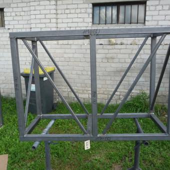 Metalo gaminiai, konstrukcijos, dekoracijos, skulptūros. / Linas / Darbų pavyzdys ID 488927