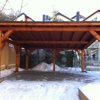 Pastatų statyba,stogų dengimas. / UAB ''PUNSA'' / Darbų pavyzdys ID 488939