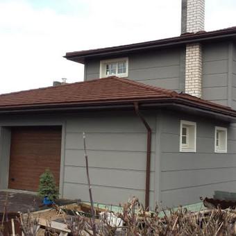 Pastatų statyba,stogų dengimas. / UAB ''PUNSA'' / Darbų pavyzdys ID 488941