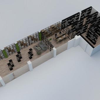 3D vizualizacijų rengimas/3D planai/interjero projektavimas / Agnė / Darbų pavyzdys ID 490041