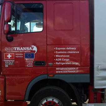 Reklama ant automobilio, lauko vidaus reklamos darbai / Trigalvis.lt / Darbų pavyzdys ID 490377