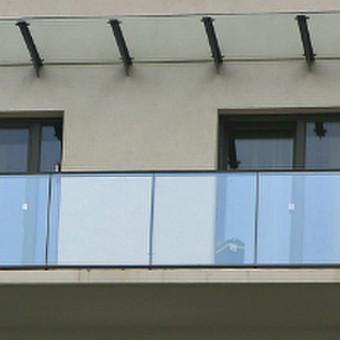 Turėklai iš nerūdijančio plieno ir vidaus durys / Vaidmanta MB / Darbų pavyzdys ID 490521