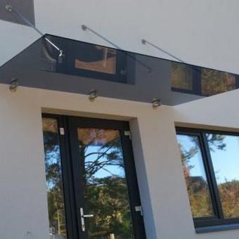 Turėklai iš nerūdijančio plieno ir  vidaus durys <Vaidmanta> / Vaidmanta MB / Darbų pavyzdys ID 490523