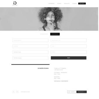 Interneto svetainių kūrimas / Arnas Kromelis / Darbų pavyzdys ID 490735