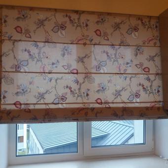 uzuolaidu siuvimas ,audiniu parinkimas dekoravimas  tekstile / Daina Šmidt / Darbų pavyzdys ID 490975