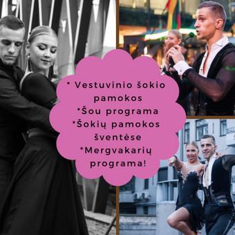 Šokiai, Šokių pamokos, Vestuvinis šokis, Šou, / ŠOKIO MAGIJA / Darbų pavyzdys ID 492611