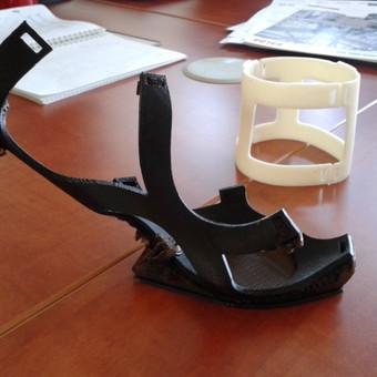 <p>3D atspausdinta modelio dalis</p>