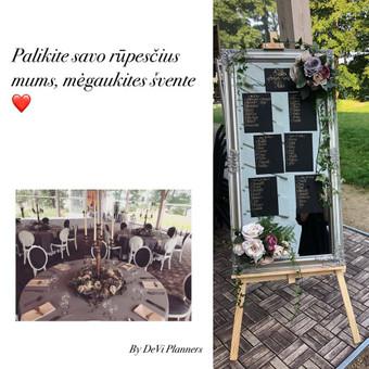"""Vestuvių planavimas/organizavimas """"DeVi Planners"""" / Viktorija Daukšienė / Darbų pavyzdys ID 494103"""