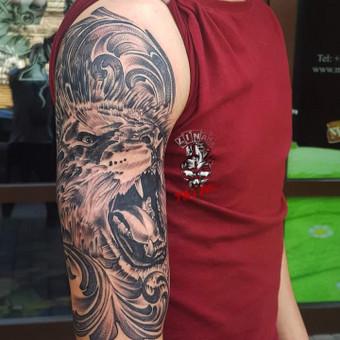 Tatuiruotės, tatuiruočių salonas / Linas Zlatkus / Darbų pavyzdys ID 494141