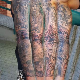 Tatuiruotės, tatuiruočių salonas / Linas Zlatkus / Darbų pavyzdys ID 494149