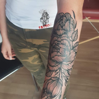 Tatuiruotės, tatuiruočių salonas / Linas Zlatkus / Darbų pavyzdys ID 494151