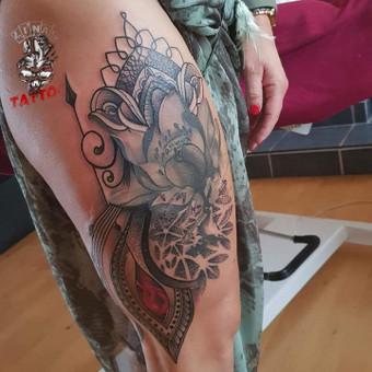 Tatuiruotės, tatuiruočių salonas / Linas Zlatkus / Darbų pavyzdys ID 494153