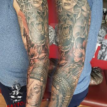 Tatuiruotės, tatuiruočių salonas / Linas Zlatkus / Darbų pavyzdys ID 494155