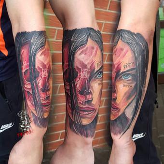 Tatuiruotės, tatuiruočių salonas / Linas Zlatkus / Darbų pavyzdys ID 494157