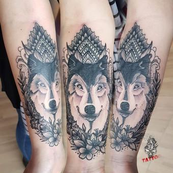 Tatuiruotės, tatuiruočių salonas / Linas Zlatkus / Darbų pavyzdys ID 494159
