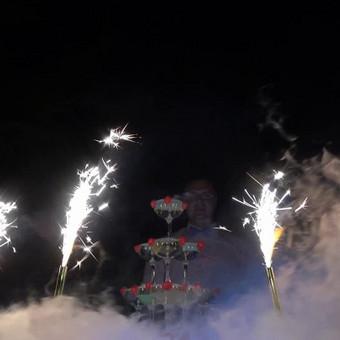 Šampano taurių piramidė by Bubble Tower / Marius Dolbadzė / Darbų pavyzdys ID 494355