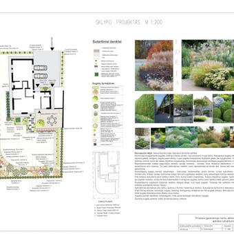 Aplinkos projektavimas, konsultavimas / Viktorija / Darbų pavyzdys ID 494791