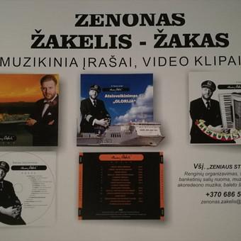"""Z. Žakelis - Žakas Profesonalus muzikantas, renginių vedėjas / VšĮ """"Zeniaus studija"""" / Darbų pavyzdys ID 495377"""