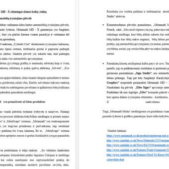Rinkodaros specialistė, tekstų kūrėja LT ir EN / Jelena Kirpa / Darbų pavyzdys ID 495885