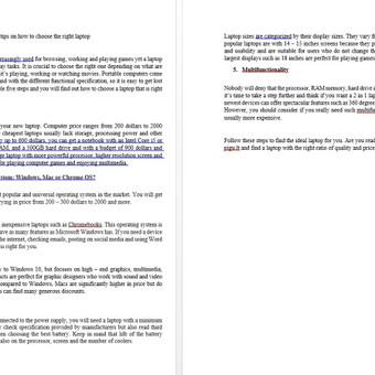 Rinkodaros specialistė, tekstų kūrėja LT ir EN / Jelena Kirpa / Darbų pavyzdys ID 495887
