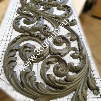 2D, 3D ir 4D frezavimas, 3D skenavimas / 3D Group EU, 3D Wood / Darbų pavyzdys ID 496085