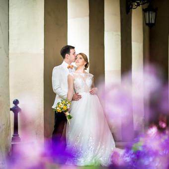 Spalvinga vestuvinė fotografija Fotorama / Dalia / Darbų pavyzdys ID 496407